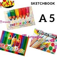 TERLARIS KIKY SKETCHBOOK A5 / SKETCH BOOK A5 / BUKU GAMBAR SKETSA A5 -