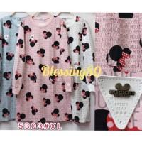 Atasan Kaos Tunik Mickey Import