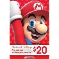Baru $20 Nintendo Eshop Gift Card Digital Code