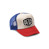 DEUS - BAYLAND TRUCKER - BLUE/RED