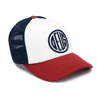 DEUS - PILL TRUCKER - NAVY/RED