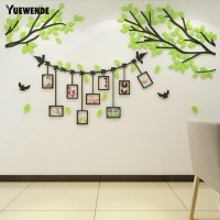 Can Buy Yuew Acrylic Tree Photo Frame Wall Sticker DIY Decal