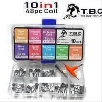 TBQ Coil Master 10 in 1 Master Prebuilt Wire Vape Authentic