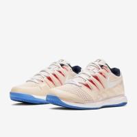 Sepatu Tenis Nike Womens Air Zoom Vapor X HC - Lt Orewood Brn/White/Su