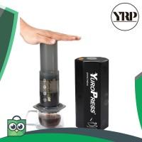 Promo YuroPress Set Portable French Press Coffee Maker - YRP350 Keren
