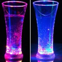 NL Gelas Wine dengan Lampu LED Warna-Warni