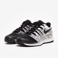 Sepatu Tenis Nike Womens Air Zoom Vapor X HC - White/Black