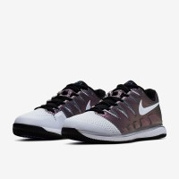 Sepatu Tenis Nike Womens Air Zoom Vapor X HC - Multi-Colour/White/Blac