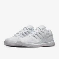 Sepatu Tenis Nike Womens Air Zoom Vapor X Hc - White/Vast Grey