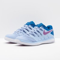 Sepatu Tenis Nike Womens Air Zoom Vapor X Hc - Royal Tint/Royal Pulse