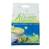 ESPRECIELO Allure Japan Vanilla Green Tea Late 336gr Teh Hijau 14x24gr