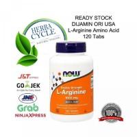 Now Foods L-Arginine 1000 mg 120 Tab Now Arginine ORI USA