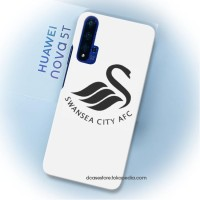 Casing case Nova 5t huawei honor 20 Club Logo Swansea City