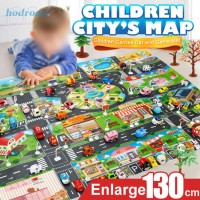 Toy Map Toys Road Kids Creative Educational Gift Play Buildings Par TG