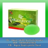KANGZEN TRANSPARENT SOAP SABUN WITH TEA TREE OIL