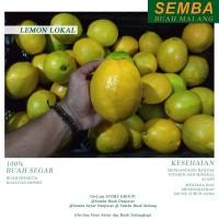 LEMON LOKAL 1/2KG Buah Fruit Sembako Makanan Fresh Murah Denpasar Bali