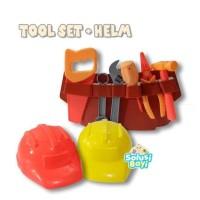 Elifkha Mainan Edukatif Anak Tools Set Mainan Alat Perkakas Tukang