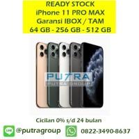 (IBOX) iPhone 11 PRO MAX 64GB 256GB 512GB Garansi Resmi TAM 64 256 512