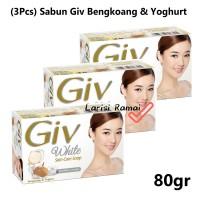 (3Pcs) Sabun Giv Varian Bengkoang & Yoghurt Kemasan 80Gr
