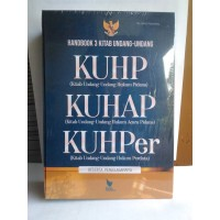 Handbook 3 Kitab Undang-Undang KUHP KUHAP,KUHPer-Tim Literasi Nusantar