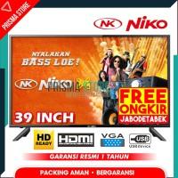 Niko LED TV 39 Inch Televisi HD Ready NK-39Beta (FREE ONGKIR JABODTBK)