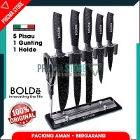 Bolde Super Knives Granito Pisau Set 7 Pcs