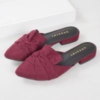 Guzzini FB 186 Maron - Sepatu Sandal Mules Wanita