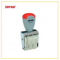 Joyko Stamp Date D-4 Ukuran 3mm Stempel Cap Tanggal Bulan Tahun