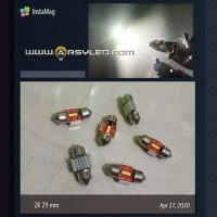 Lampu LED Kabin Plafon 28 - 29 mm CHIPSET 1860 Ekstrim Terang Mobil