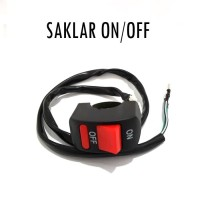 Saklar / Power Switch On / Off Lampu Motor Stang Outdoor