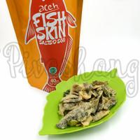 GROSIR Aceh Fish Skin Salted Egg 40gr Mirip Irvins Ei FREE Bubble Wrap