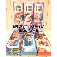 Pencil Case/Tempat Pensil Magnet AZ-167