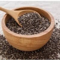 ORGANIC BLACK CHIA SEED 1000 gram / 1 kg MURAH