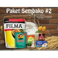 Paket Sembako 2 Parcel Bingkisan Lebaran Ramadhan Idul Fitri 100.000