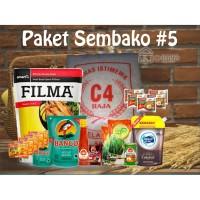Paket Sembako 5 Parcel Bingkisan Lebaran Ramadhan Idul Fitri 250.000