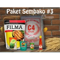 Paket Sembako 3 Parcel Bingkisan Lebaran Ramadhan Idul Fitri 150.000