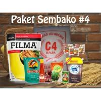 Paket Sembako 4 Parcel Bingkisan Lebaran Ramadhan Idul Fitri 200.000