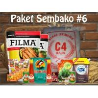 Paket Sembako 6 Parcel Bingkisan Lebaran Ramadhan Idul Fitri 300.000
