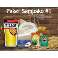 Paket Sembako 1 Parcel Bingkisan Lebaran Ramadhan Idul Fitri 60.000