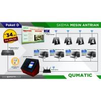 Mesin / Alat / Sistem Antrian / Qumatic - Paket D