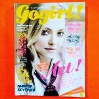 Majalah GOGIRL No.72 Jan 2011 Cover AMANDA SEYFRIED