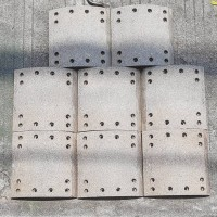 brake linning( kampas rem) depan untuk Fuso super great FJ 2523