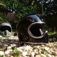 Helm Retro Replika Mini Moto Slim Minimoto