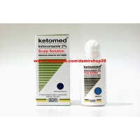 Ketomed Scalp Solution / Ketomed SS / Shampo Anti Ketombe 60ml