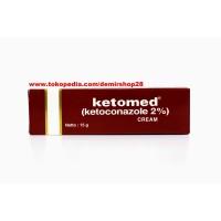 Ketomed Cream 15 gr / Krim Ketokonazol 2% Anti Jamur Panu Kadas Kudis
