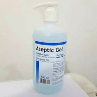 Aseptic Gel Onemed Hand Sanitizer / Antiseptic 500ml Pump