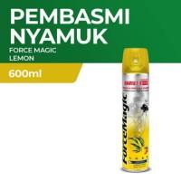 Force Magic Lemon 600 ML Bukan Baygon HIT Obat Nyamuk Semprot Ampuh