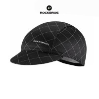 ROCKBROS MZ100 Bicycle Cap Hat - Topi Sepeda - BLACK