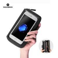 ROCKBROS AS-049 Rainproof TPU Phone Bag 6.2 Bike - Tas Handphone