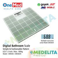 Digital Bathroom EB9383 / Timbangan Digital / Timbangan Badan - ONEMED